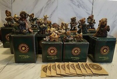 Boyds Bears and friends lot