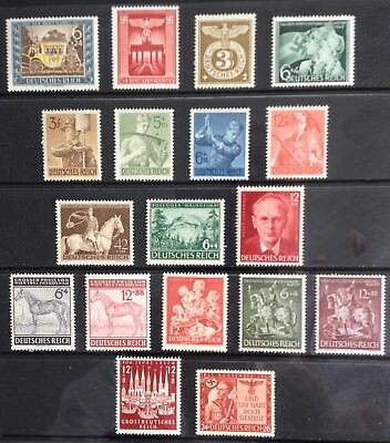 Germany Third Reich 1943 issues MNH/MLH