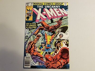 X-Men 129 1st Kitty Pride & Emma Frost Key Book