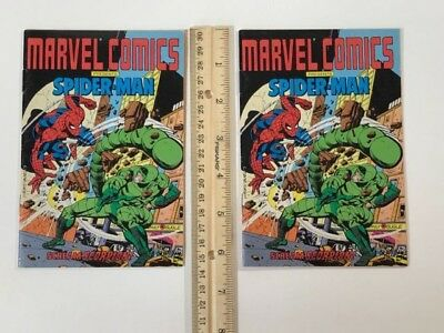 Marvel Comics Presents Spider-man Mini Comic lot of 2