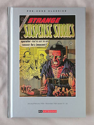 1st Ed STRANGE SUSPENSE STORIES VOL 1 Jan/Feb 1954-Nov 1954 16-22 HC PS ARTBOOKS