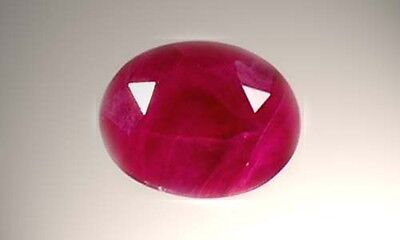 19thC Antique Handcrafted ½ct Ruby Ancient Paleolithic Neolithic SE Asia Ripened