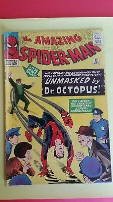 Amazing Spider-Man #12 (1964, Marvel), 3rd appearance of Doctor Octopus