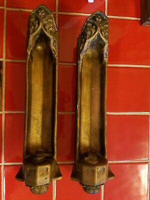 Medieval, Gothic Candle Holders