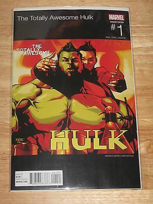 Totally Awesome Hulk 1 Variant  New Marvel Comics  Unread Mint