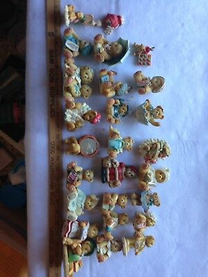 Cherished Teddies Various Lot of 31+ Retired, Suspended Limited Ed no Boxes MINT