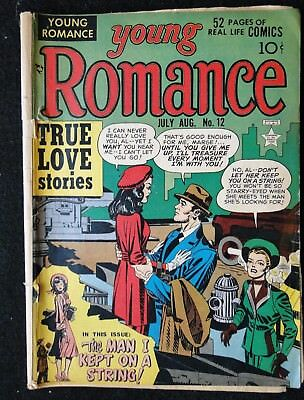 Young Romance #12, Cover Art by Jack Kirby, Beautiful Colors!
