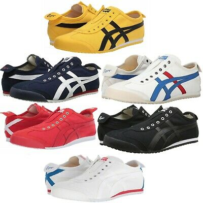 online store 07e36 7f008 ASICS ONITSUKA TIGER Mexico 66 Slip-On Men's Shoes Lifestyle Comfy Sneakers