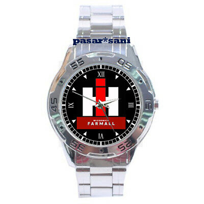 NEW FARMALL IH MCCOMMICK Custom Chrome Men Wrist Watch Men's Watches Gifts