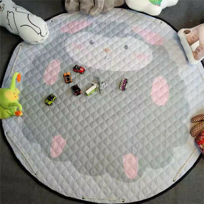 Large Foldable Kids Baby Game Toy Play Mat Soft Crawl Blanket Carpet Rug 03