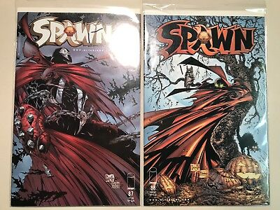 SPAWN Lot of 23; 87 - 108 Image Comics most in nm to nm/mint range 1992