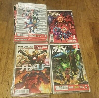 Uncanny Avengers 40 Issue Lot Remender Axis X-Men