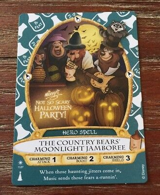 2017 Mickey's Not So Scary Halloween Party-Sorcerers Of The Magic Kingdom Card