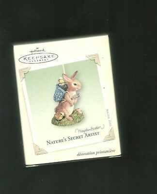 Hallmark Keepsake Easter Ornament Dated 2005 NIB Nature's Secret Artist