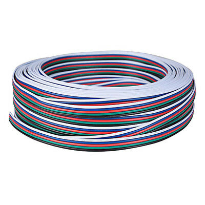 Extension Cable Line for 5050 RGBW RGBWW LED Strip 5pin Cord Wire Model:3 Meter