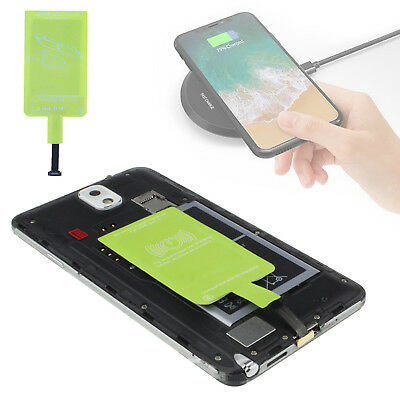 Universal Qi Wireless Charger Charging Receiver for Samsung Galaxy Phones New