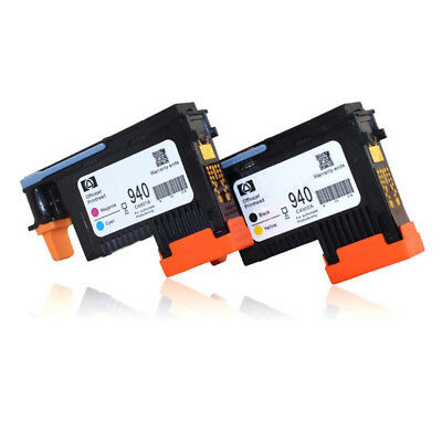 2x 940 PRINTHEAD C4900A C4901A Cyan/Magenta For HP OfficeJet 8000 8500 AU