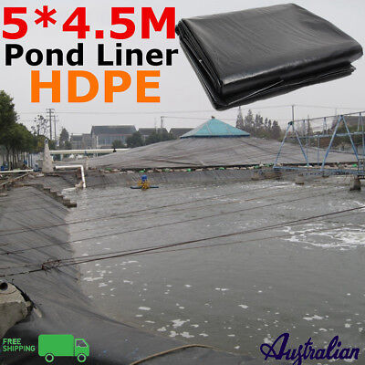 5X4.5M Fish Pond Liner Gardens Landscaping Pools Reinforced HDPE Membrane