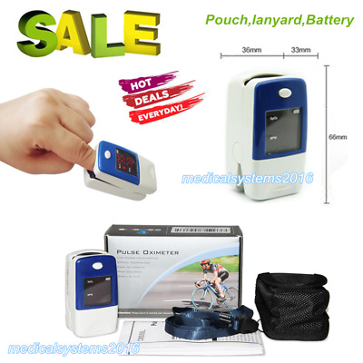 FDA Finger Tip Pulse Oximeter Blood Oxygen meter SpO2 Heart Rate Monitor New USA