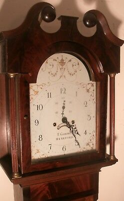 "Antique  Mahogany/oak "" Hereford""  8 Day  Longcase / Grandfather Clock"