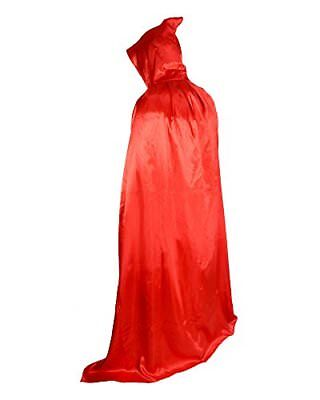 Halloween Party Christmas Magic Devil Long Vampire Dracula 59 Inch Hooded Cloak