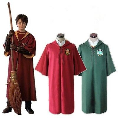 Mantello Quidditch Harry Potter Cosplay Grifondoro Serpeverde
