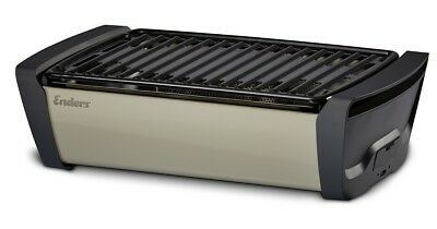 Enders Holzkohlegrill Aurora mobiler Grill raucharmer Tischgrill Camping BBQ