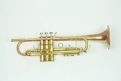 Conn 1000B in Raw brass full serviced and cleaned