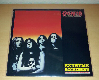 KREATOR - Extreme Aggression LP OIS 1st.press 1989 # Sodom Coroner Exumer Death