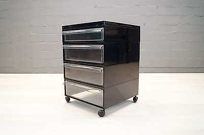 Kartell Rollcontainer Container Made In Italy 60s 70s Vintage