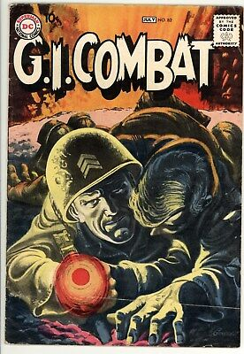 GI Combat 82 - Classic Silver-Age War Comic - Classic Cover - 5.0 VG/FN