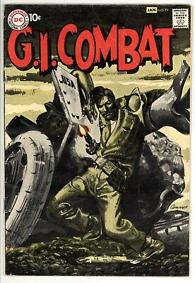 GI Combat 79 - Classic Silver-Age War Comic - Classic Cover - 5.0 VG/FN