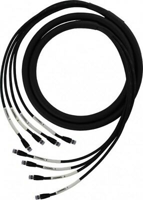 ProCo 50 ft DuraCat 4X 4 channel cat6 UTP cable RJ45 to RJ45 US-Made IN STOCK!