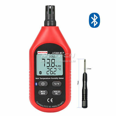NKTECH UT333BT+ Bluetooth LCD Digital Air Temperature Humidity Meter Thermometer
