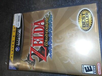Legend of Zelda: The Wind Waker Nintendo GameCube 2003 players choice. Complete!