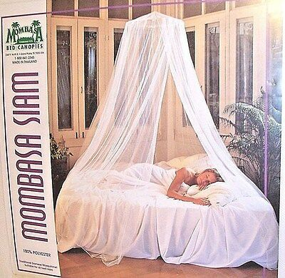 Mombasa Bed Canopy Tradition Siamese Mosquito Net White Net Fits All Size Beds & MOMBASA CHILDRENu0027S Glow In The Dark Canopy - $52.15 | PicClick