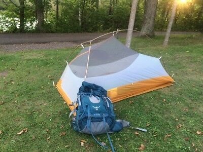 Big Agnes Fly Creek UL1 tent & BRAND NEW Big Agnes Fly Creek High Volume HV UL1 Tent ASH/GOLD ...