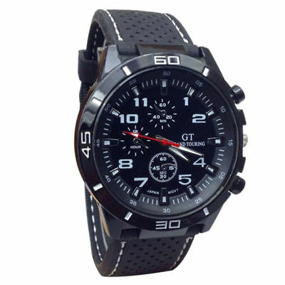 INFANTRY INFILTRATOR Mens Wrist Watch Analog Army Sport Black White