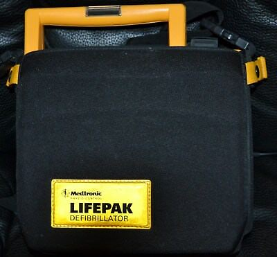 Physio-Control LifePak 500  with Case NO BATTERY or Pads Factory Tested Aug 2017
