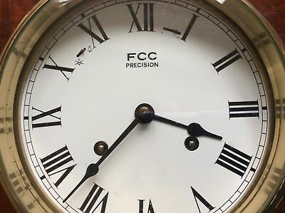 FCC Precision Ships Clock With Hermle Movement, 8 Bells.