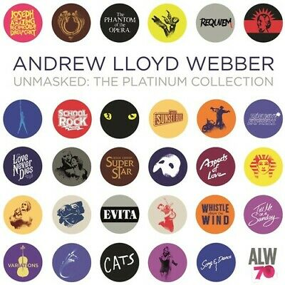 Andrew Lloyd Webber - Unmasked: The Platinum Collection [New CD]