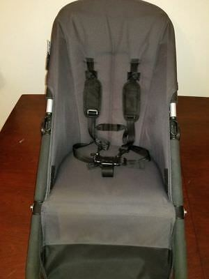 Bugaboo Cameleon 2 Grey Stroller Canvas Toddler Baby Seat Fabric Base Parts