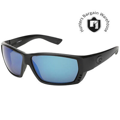 1a6592ee5a845 Costa Del Mar TA01OBMGLP Tuna Alley Polarized BlkOut Blue Mirror 580G  Sunglasses