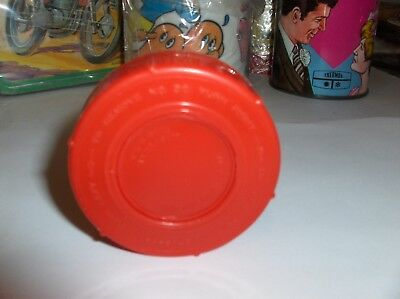 Red Plastic-Aladdin,Thermos Stopper-No 30`Fits Jetsons & Many Other Thermoses