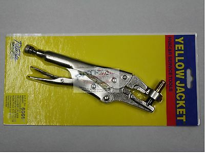 Yellow Jacket 60667 Refrigerant Recovery Pliers Fits Sizes from 3/16 to 7/8
