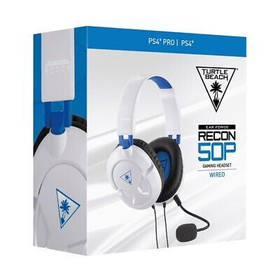 Turtle Beach Ear Force Recon 50P Stereo Gaming Headset - White