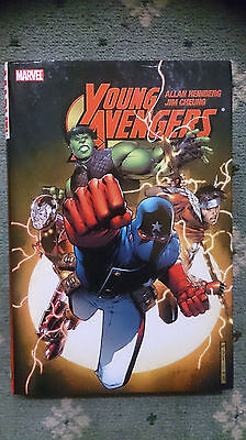 Marvel Comics Young Avengers Oversized HC Hardcover graphic novel