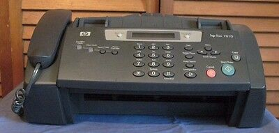 Hewlett Packard Fax 1010 series Machine Copier Phone Not working AS IS For parts