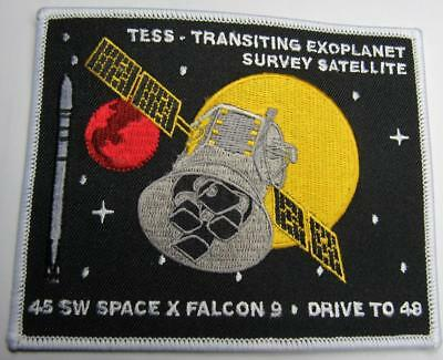 "TESS SPACEX FALCON9 45 SPACE WING SPACE PATCH 4.5"" Explorer-class planet FINDER"
