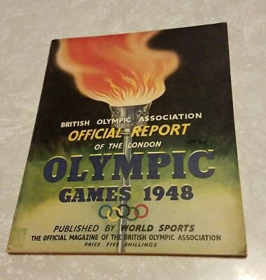 British Olympic Association Official Report Of The London Olympic Games 1948